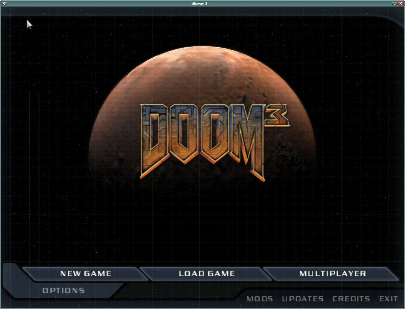 dhewm3 - Doom3 Source Port